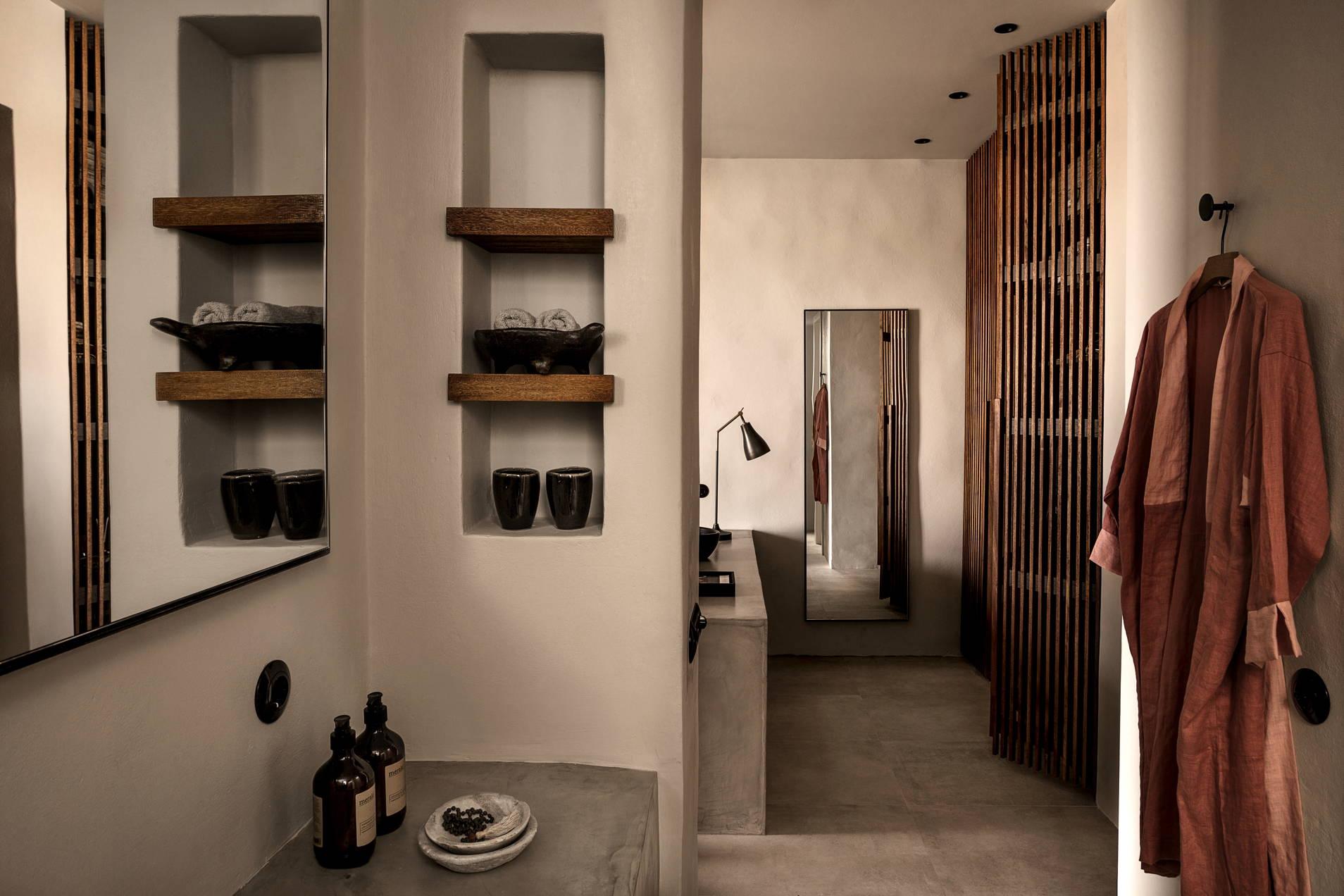 look&love-Fernweh-Ein Blick ins Badezimmer vom Hotel Casa Cook auf Kos